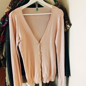 Pale Pink Benetton Sweater